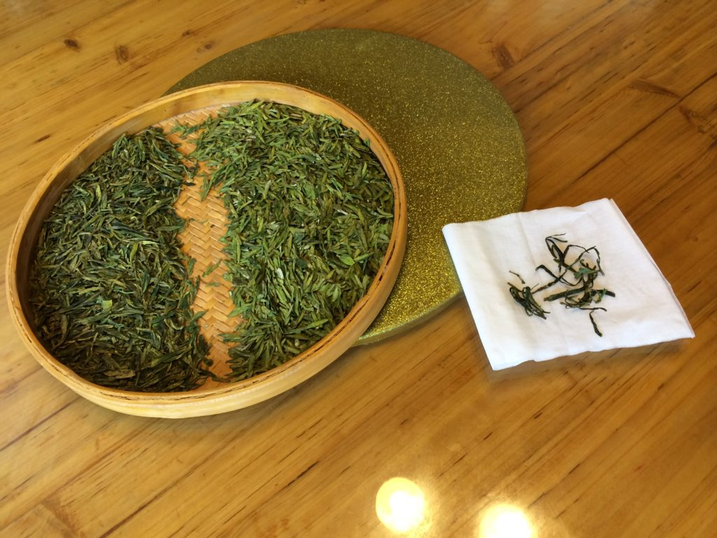 Long Jing green tea comparison