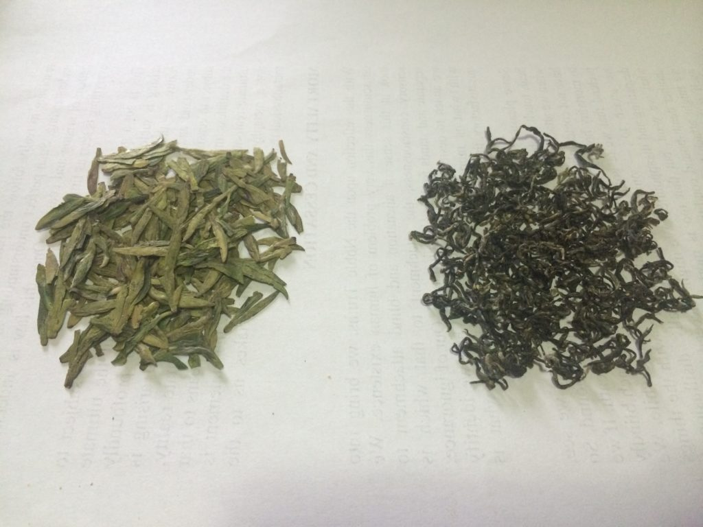 Long Jing Tea vs Bi Luo Chun Tea