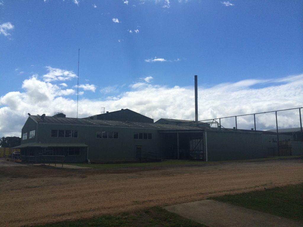 Outside look of the Nerada Tea factory in Australia.