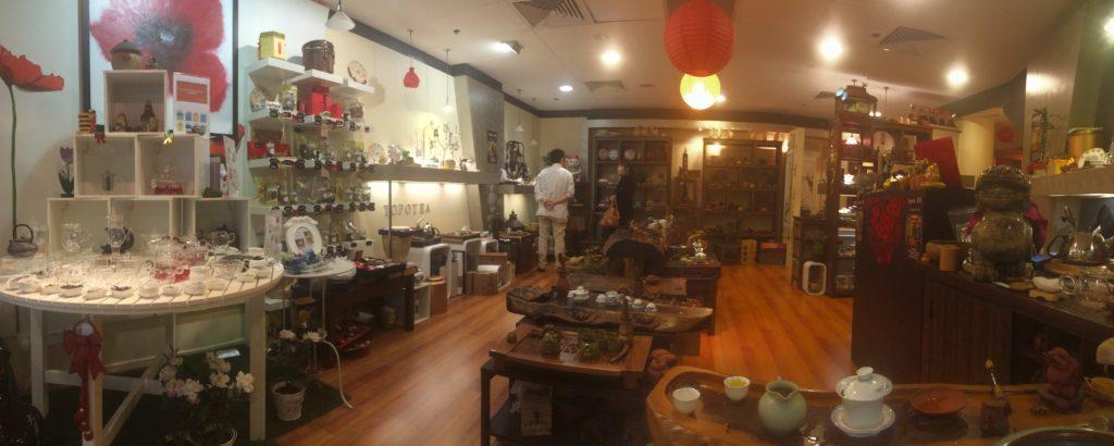 Topotea Tea Shop in Sydney`s Chinatown.