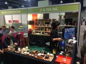 World Tea Expo: Typischer Aussteller vor Ort