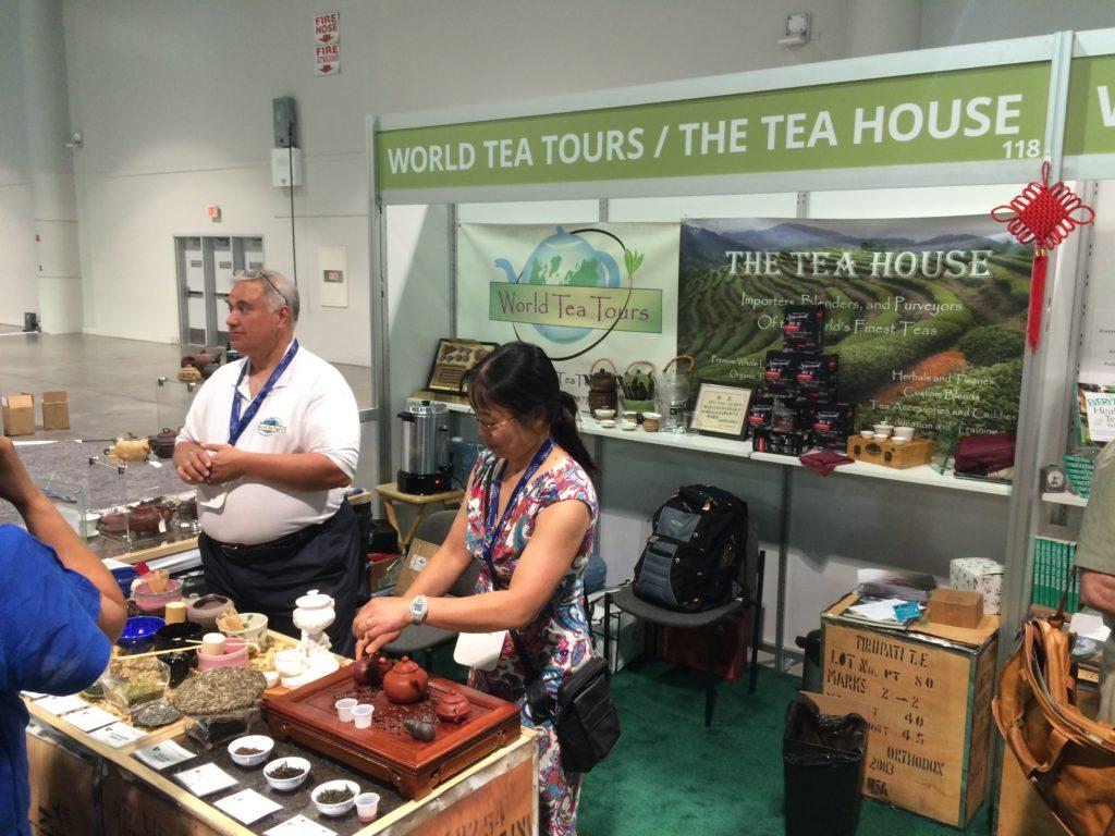 World Tea Expo: Teereisen-Aussteller auf der Expo