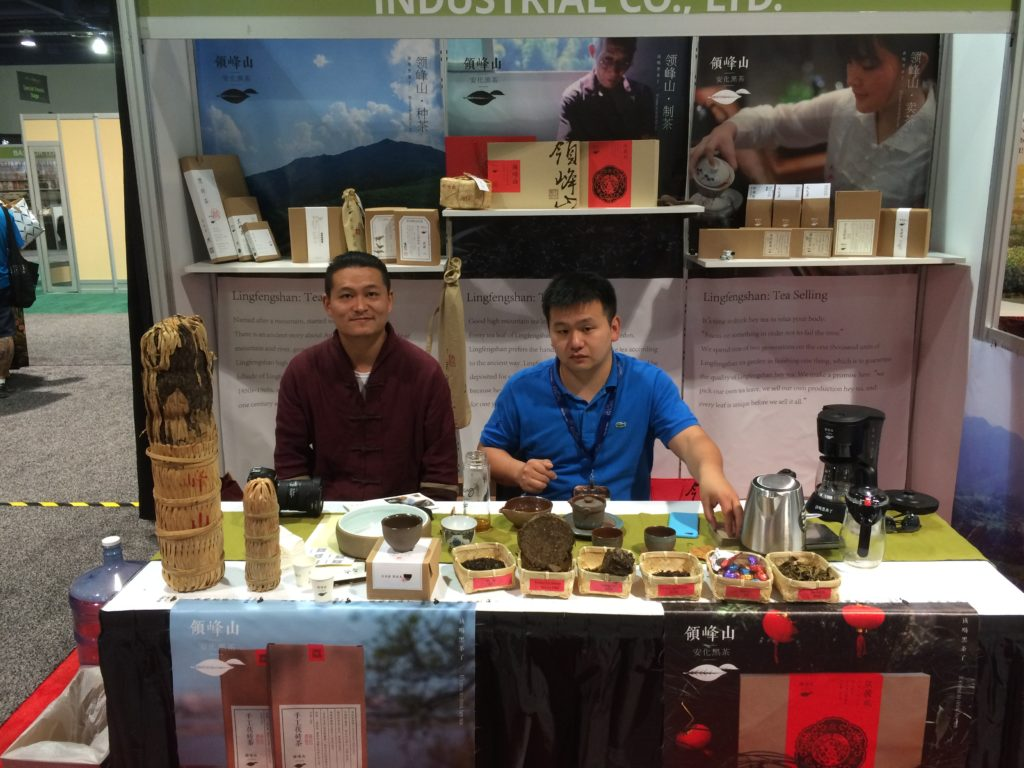 World Tea Expo: Lustiges Tea Tasting