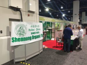 World Tea Expo: Shen Nong Organic Tea